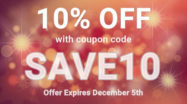 10% Off With Coupon Code SAVE10