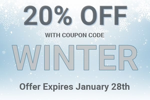 20% Off All Orders With Coupon Code WINTER