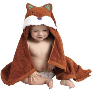 AM PM Kids Fox Hooded Towel (Baby Size)