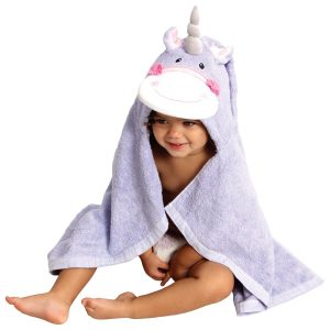 AM PM Kids Unicorn Hooded Towel (Baby Size)