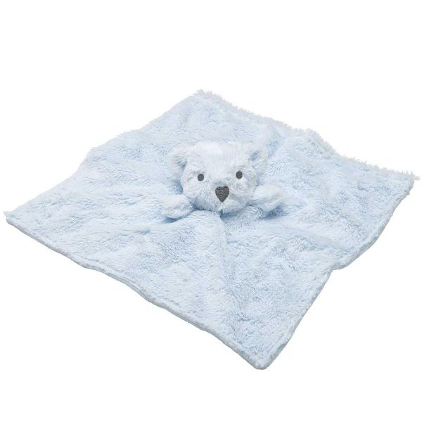 Elegant Baby Blue Bear Blankie