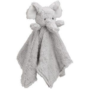 Elegant Baby Elephant Blankie (15 x 15)