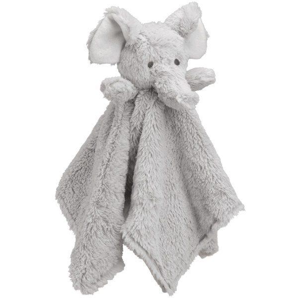 Elegant Baby Gray Elephant Blankie