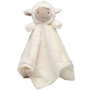 Elegant Baby Lamb Blankie (15 x 15)