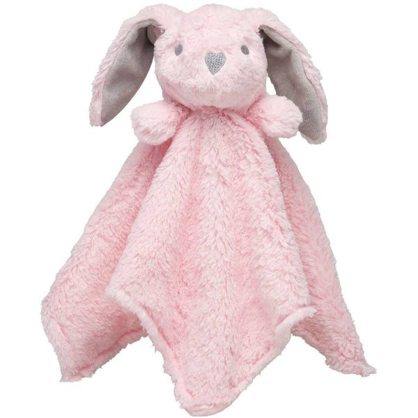 Elegant Baby Pink Bunny Blankie