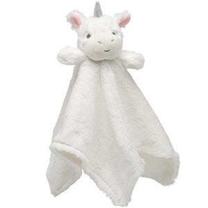 Elegant Baby Unicorn Blankie (15 x 15)