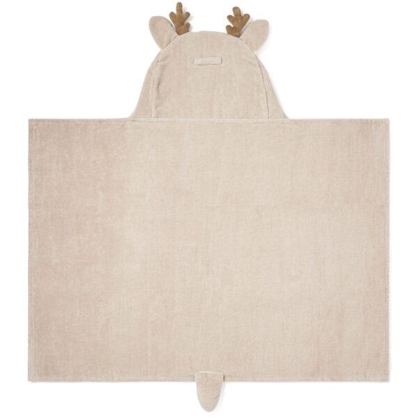 Elegant Baby Deer Hooded Towel For Toddlers