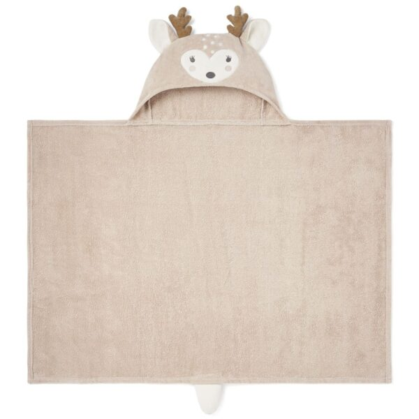 Elegant Baby Fawn Hooded Towel For Babies