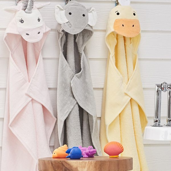 Elegant Baby Hooded Towels