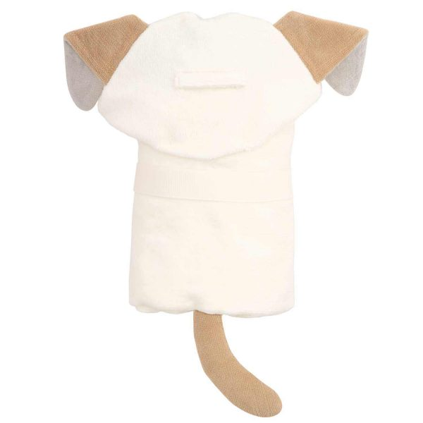 Elegant Baby Puppy Hooded Towel