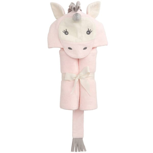 Elegant Baby Unicorn Hooded Towel