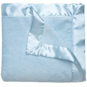 Elegant Baby Fleece Blanket (36 x 45) – Blue