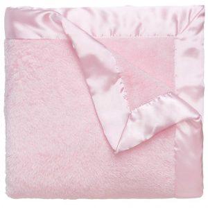 Elegant Baby Fleece Blanket (36 x 45) – Pink
