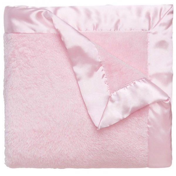 Elegant Baby Pink Coral Fleece Blanket