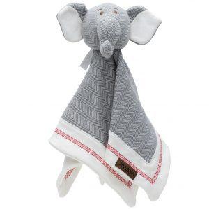 Juddlies Organic Elephant Lovey (12 x 12)