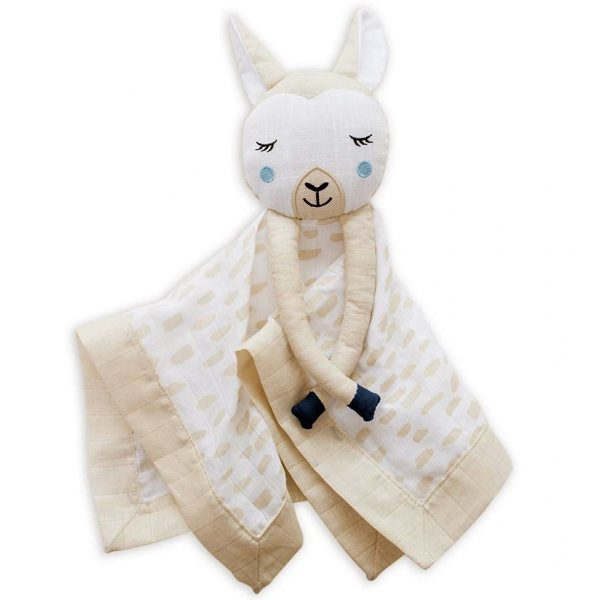 Lulujo Llama Lovie Security Blanket