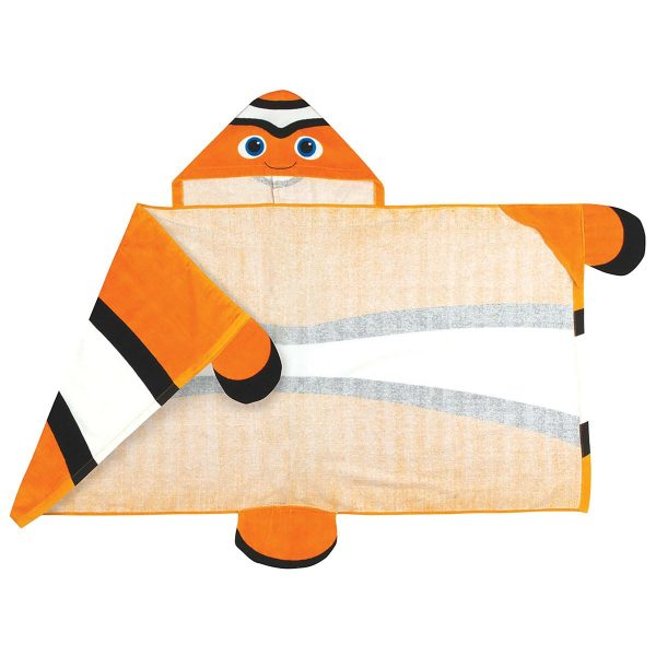 Stephen Joseph Clownfish Hooded Towel