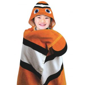 Stephen Joseph Clownfish Hooded Towel