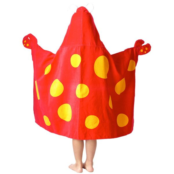 Stephen Joseph Crab Hooded Towel