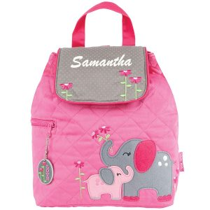 Stephen Joseph Elephant Quilted Backpack