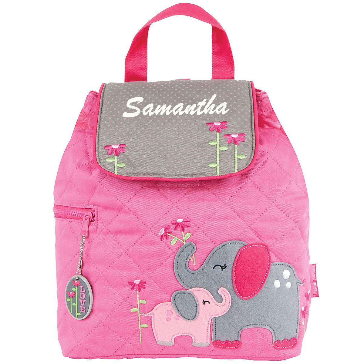 Stephen Joseph Elephant Quilted Backpack - Stitch Sensations 6a11bab94a488