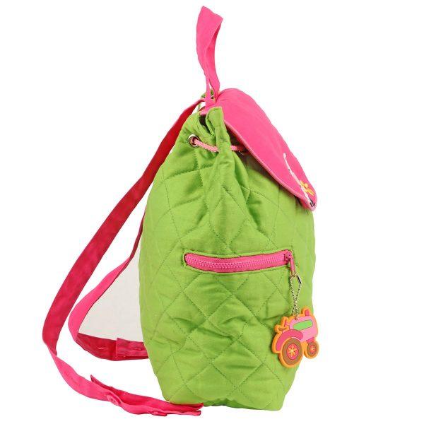Stephen Joseph Girl Farm Quilted Backpack