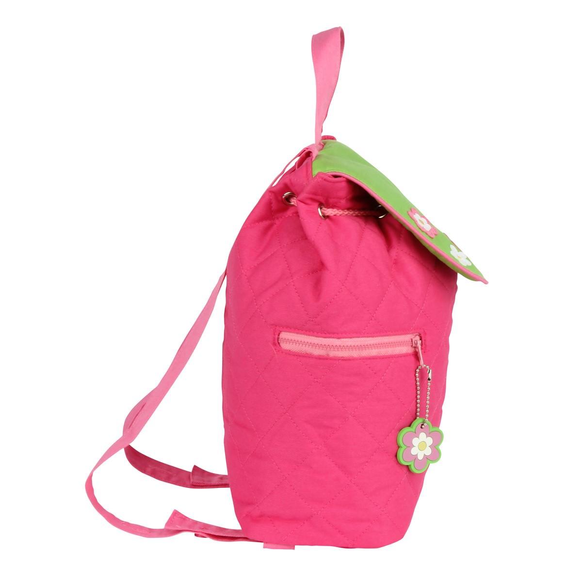 Stephen Joseph Girl Frog Quilted Backpack