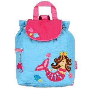 Stephen Joseph Mermaid Quilted Backpack
