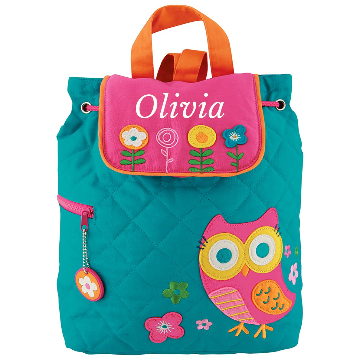 6fa627f6a2 Stephen Joseph Owl Quilted Backpack - Stitch Sensations