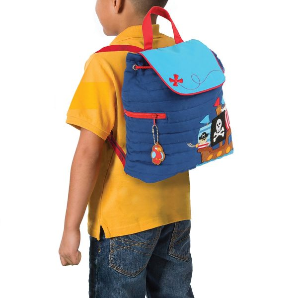 Stephen Joseph Pirate Quilted Backpack