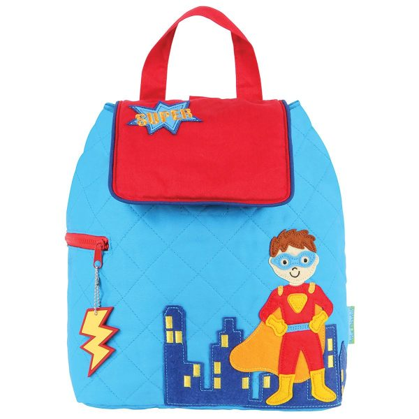 Stephen Joseph Superhero Quilted Backpack