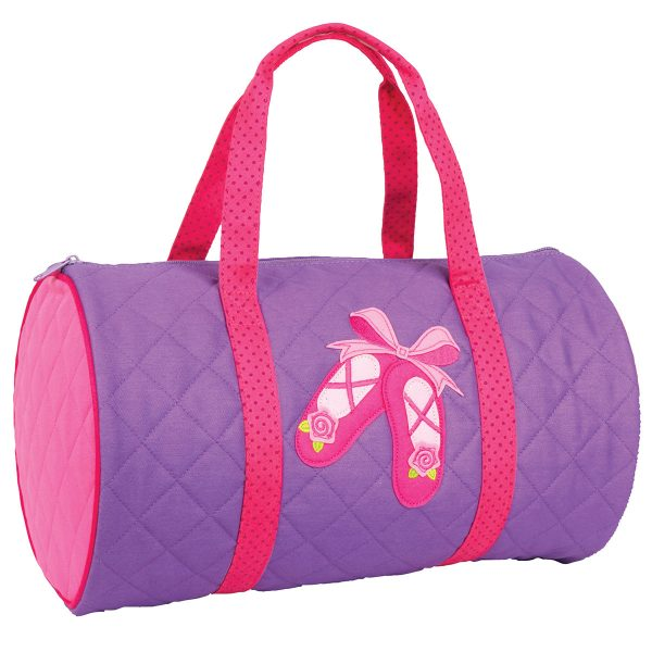 Stephen Joseph Ballet Quilted Duffle
