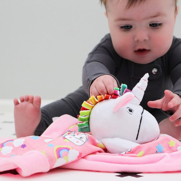 Yikes Twins Unicorn Lovie With Baby