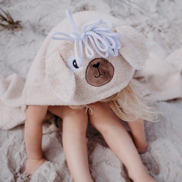 Yikes Twins Llama Hooded Towel