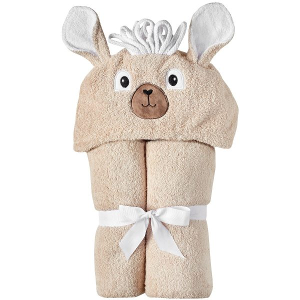 Yikes Twins Llama Hooded Towel