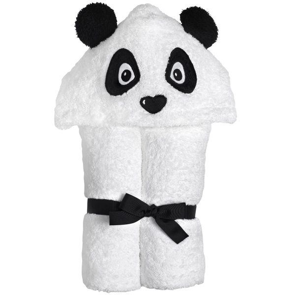Yikes Twins Panda Hooded Towel