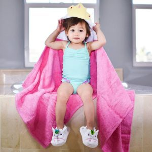 Yikes Twins Princess Hooded Towel