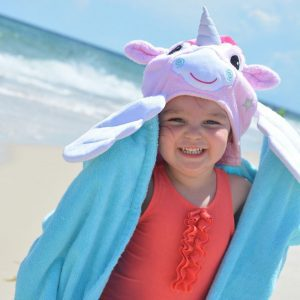 Zoocchini Alicorn Hooded Towel