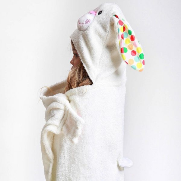 Zoocchini Bunny Hooded Towel