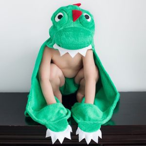 Zoocchini Dinosaur Hooded Towel