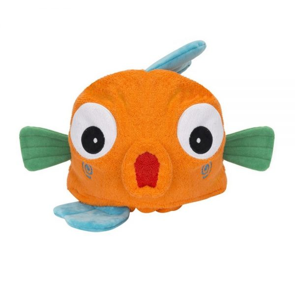 Zoocchini Fish Hooded Towel