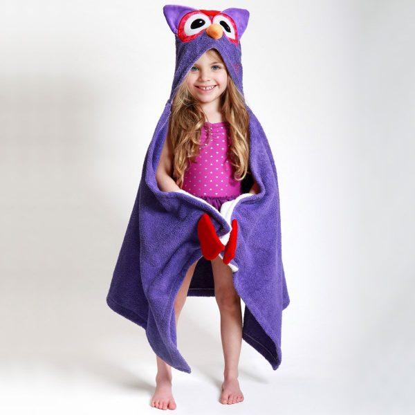 Zoocchini Owl Hooded Towel