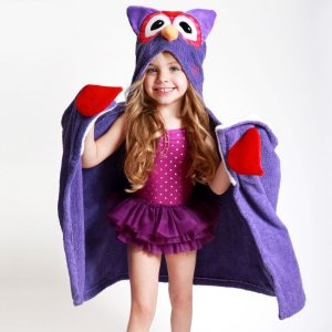 Zoocchini Owl Hooded Towel