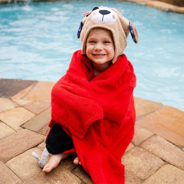 Zoocchini Pirate Dog Hooded Towel