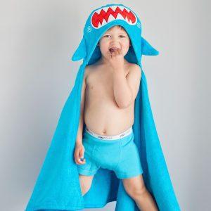 Zoocchini Shark Hooded Towel