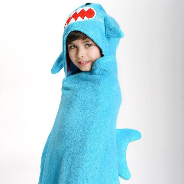 Zoocchini Shark Hooded Towel