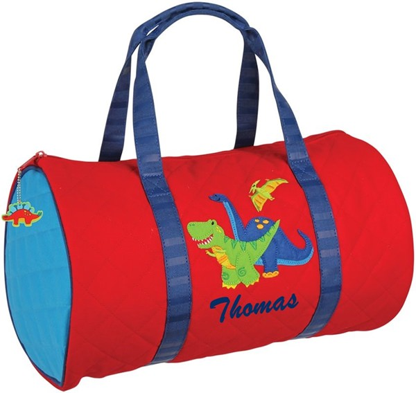 Stephen Joseph Dinosaur Duffle With Personalization